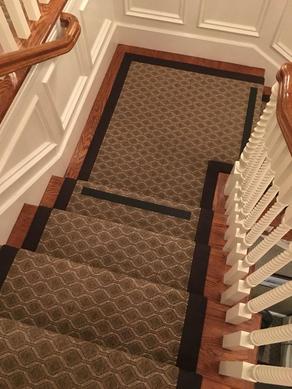 Stanton Indoor Outdoor Carpet Fabricated Into A Stair | Indoor Outdoor Carpet Runners For Stairs