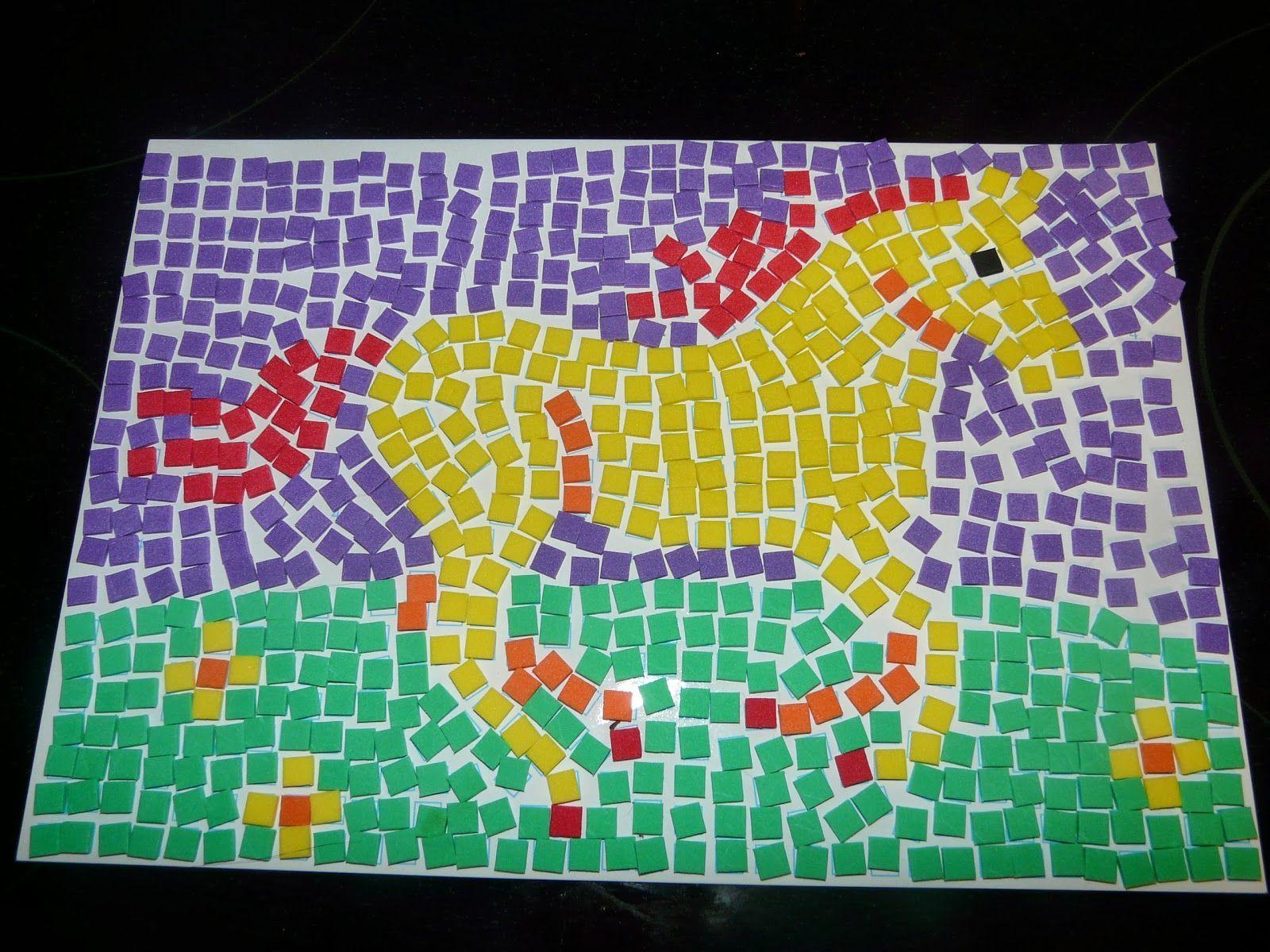 Horse Idea Mosaic