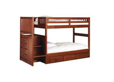 Badcock Madison Collection Twin Over Twin Bunk Bed