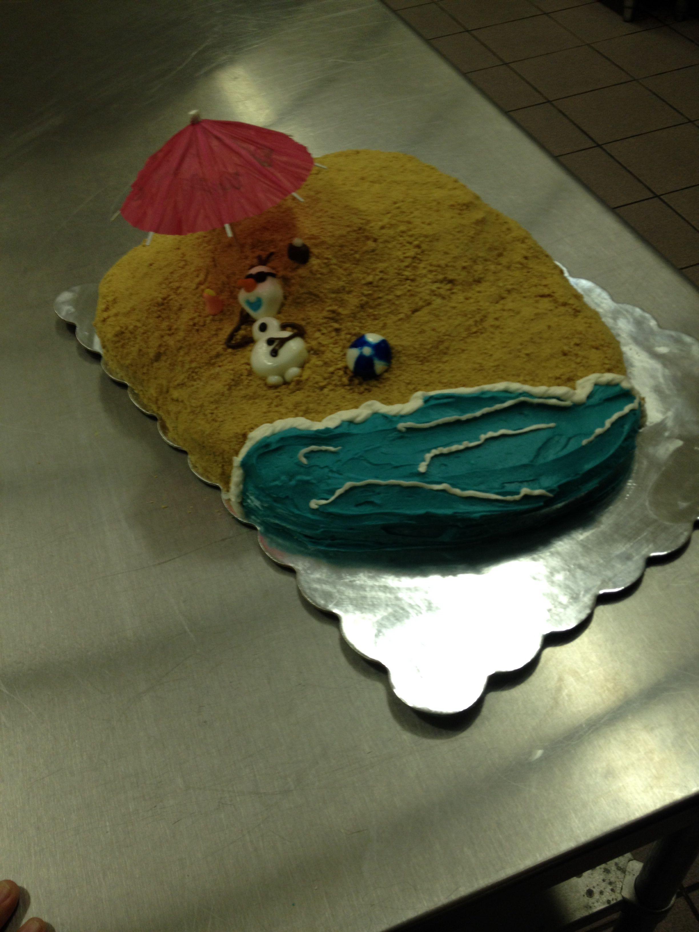 Olaf Summer Cake Frozen