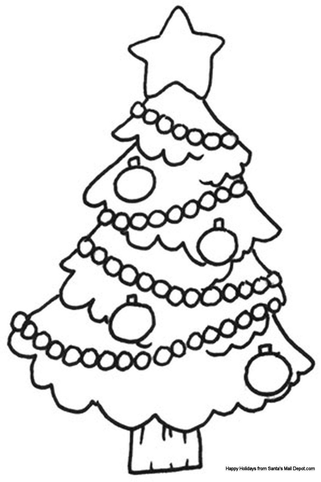 Christmas Colouring Sheet