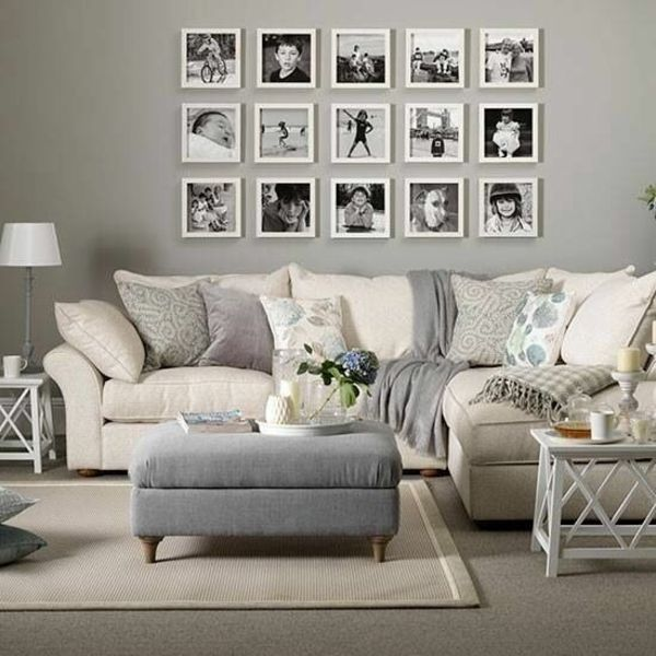 wandgestaltung wohnzimmer 20 kreative wanddeko ideen http freshideen com
