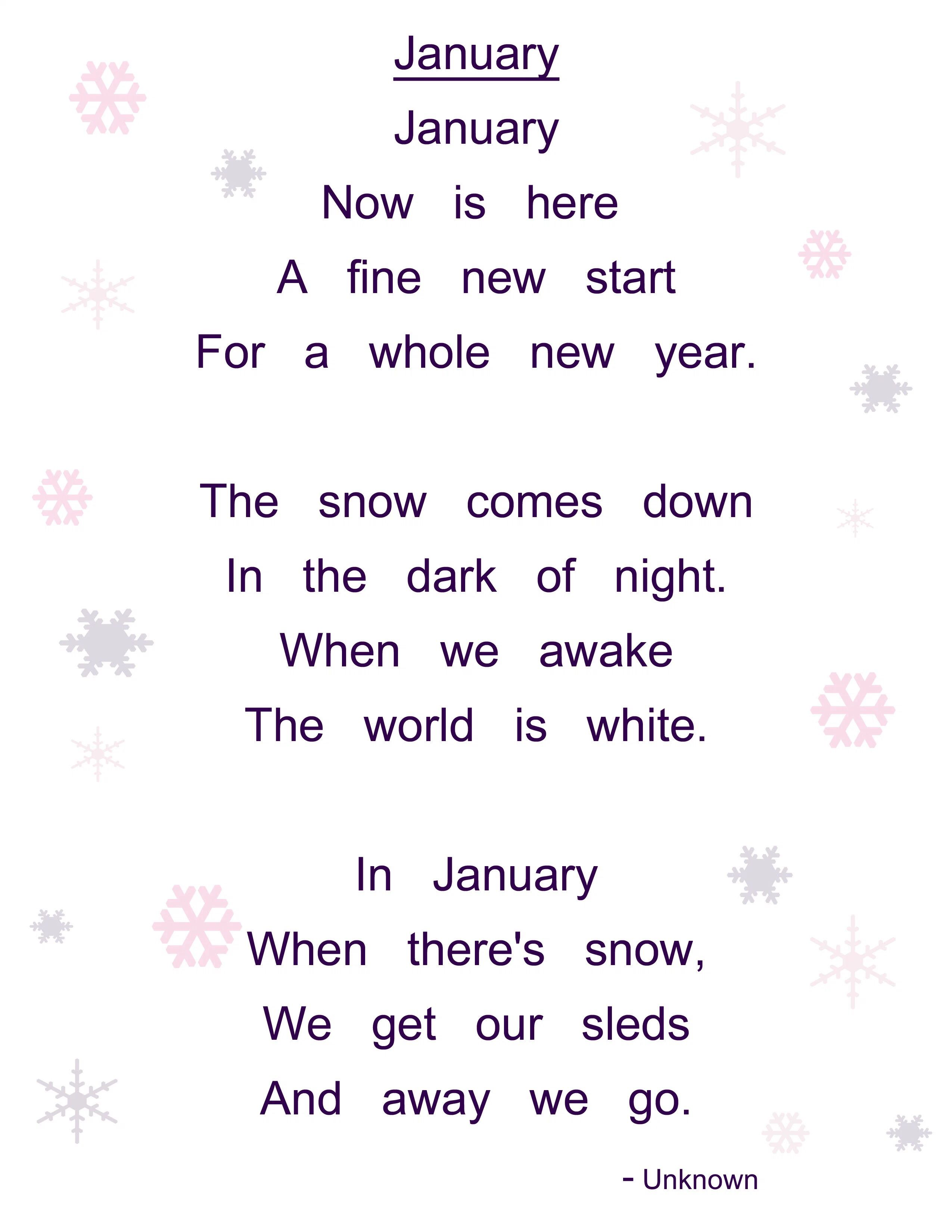 Image From I0 Wp Aylearnlove Wp Content Uploads 12 January Poem