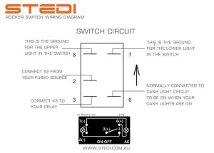 Rocker Switch Diagram | 4 x 4 | Pinterest | Rockers