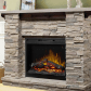 The featherston gdslr fireplace and mantel package will