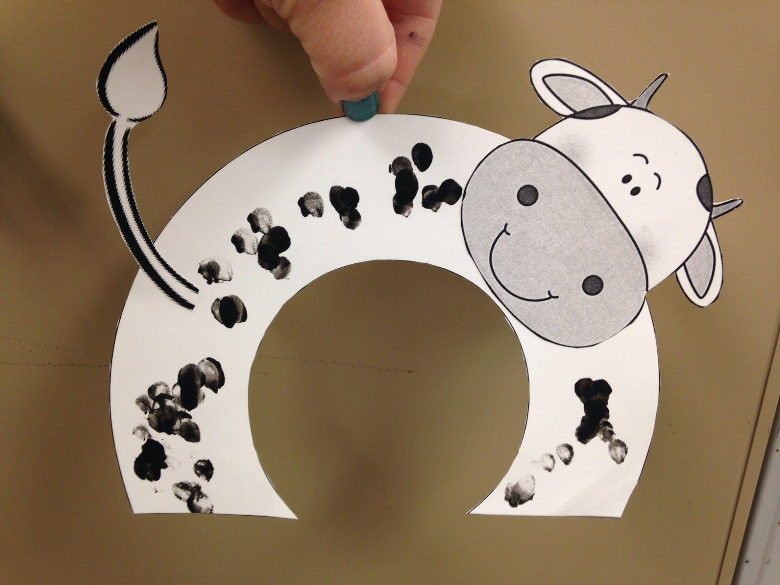 Speech Therapy With Miss Nicole Cow Crafts Copy Amp Paste