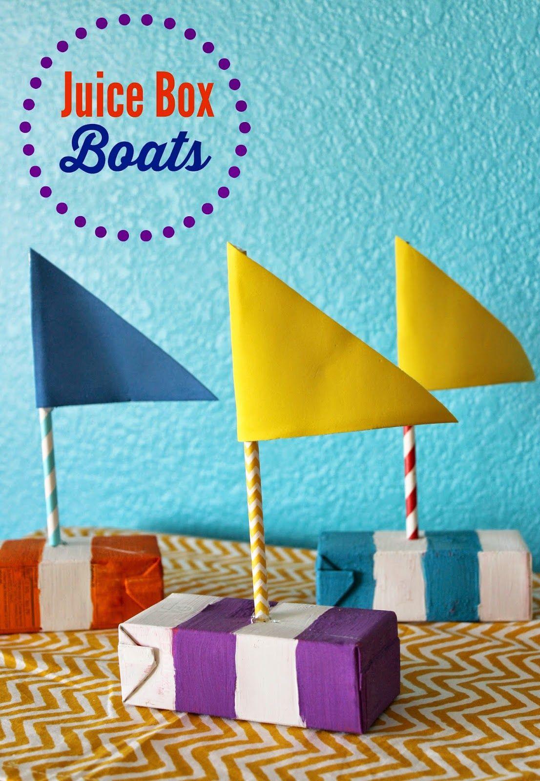 Juice Box Boats