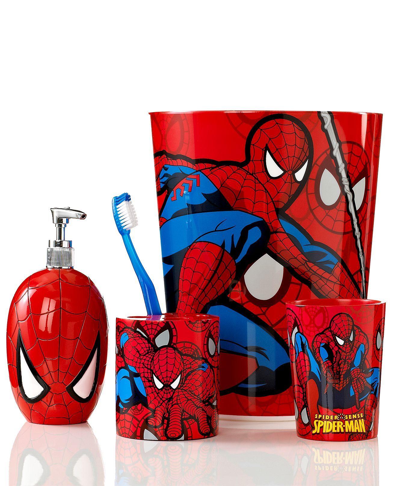 Marvel Bath Accessories Spider Man Sense Collection Marvel Gifts Amp More Pinterest Bath
