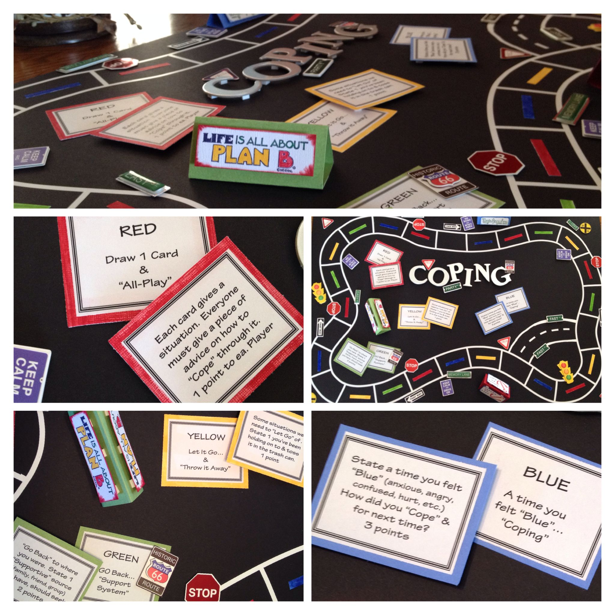 Coping Board Game For Mental Health Clinical Patients