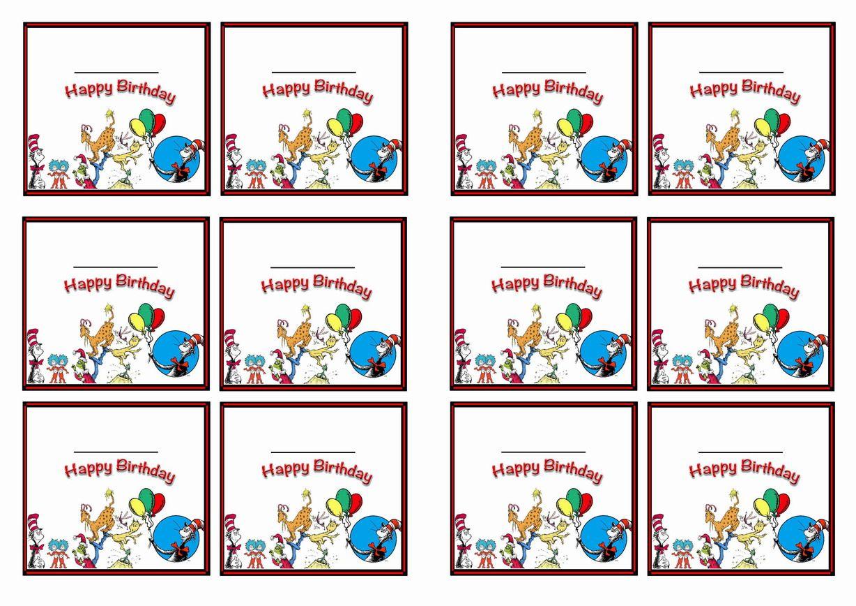 Free Printable Dr Seuss Themed Name Tags Themed Name Tags