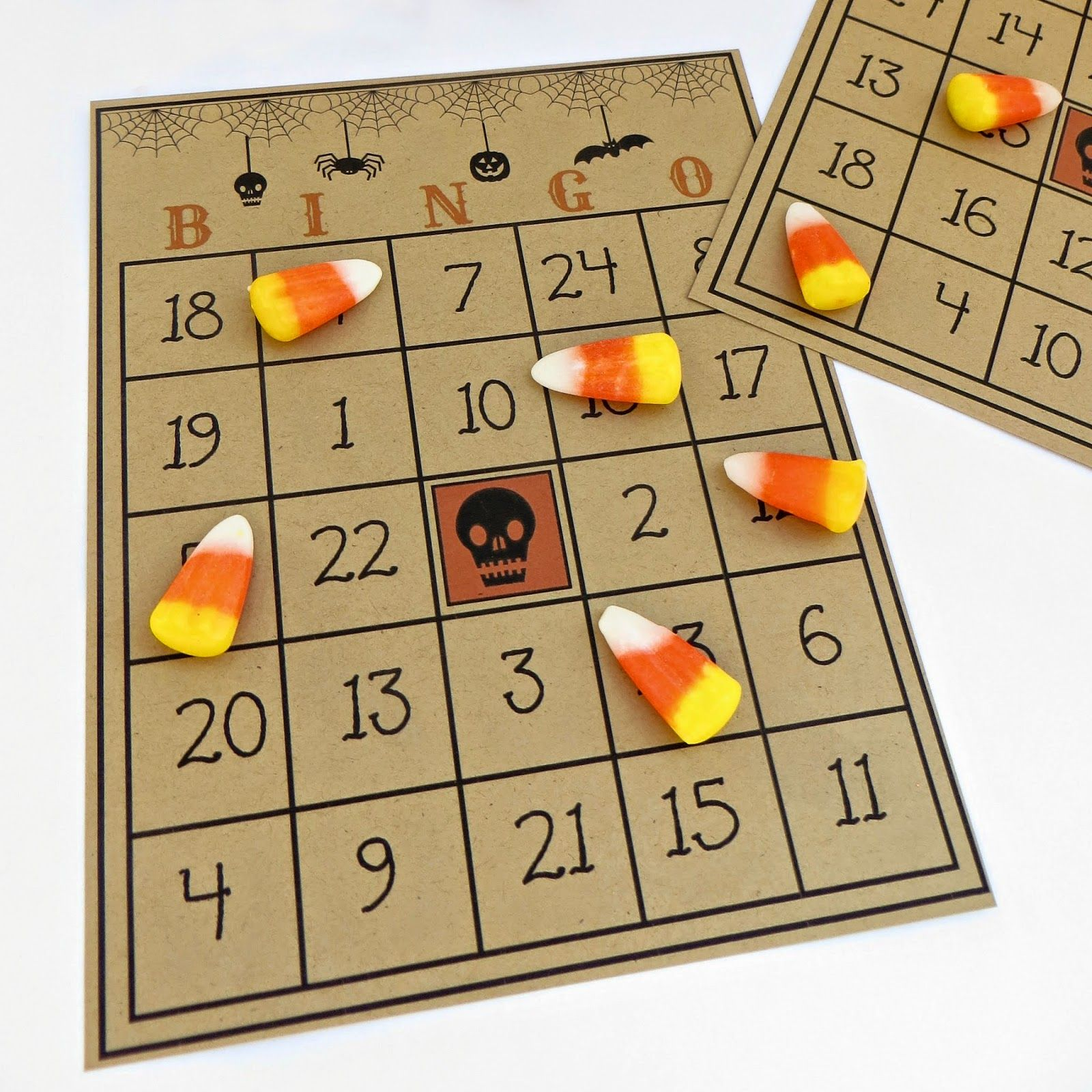 Free Printable Halloween Bingo Game Holidays