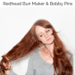 Hairstyle tips using redhead bun maker and bobby pins how to be a