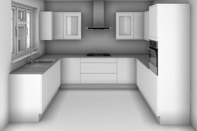 u shaped kitchen design with dimensions kitchen ideas pinterest kitchens on u kitchen decor id=21120