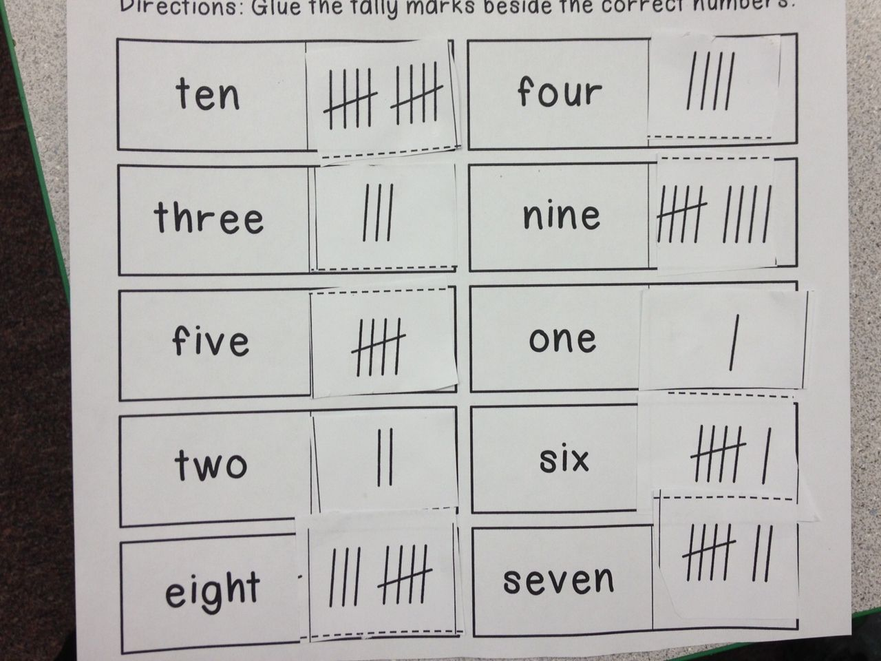 Mrs Hodge And Her Kindergarten Kids New Math Boxes