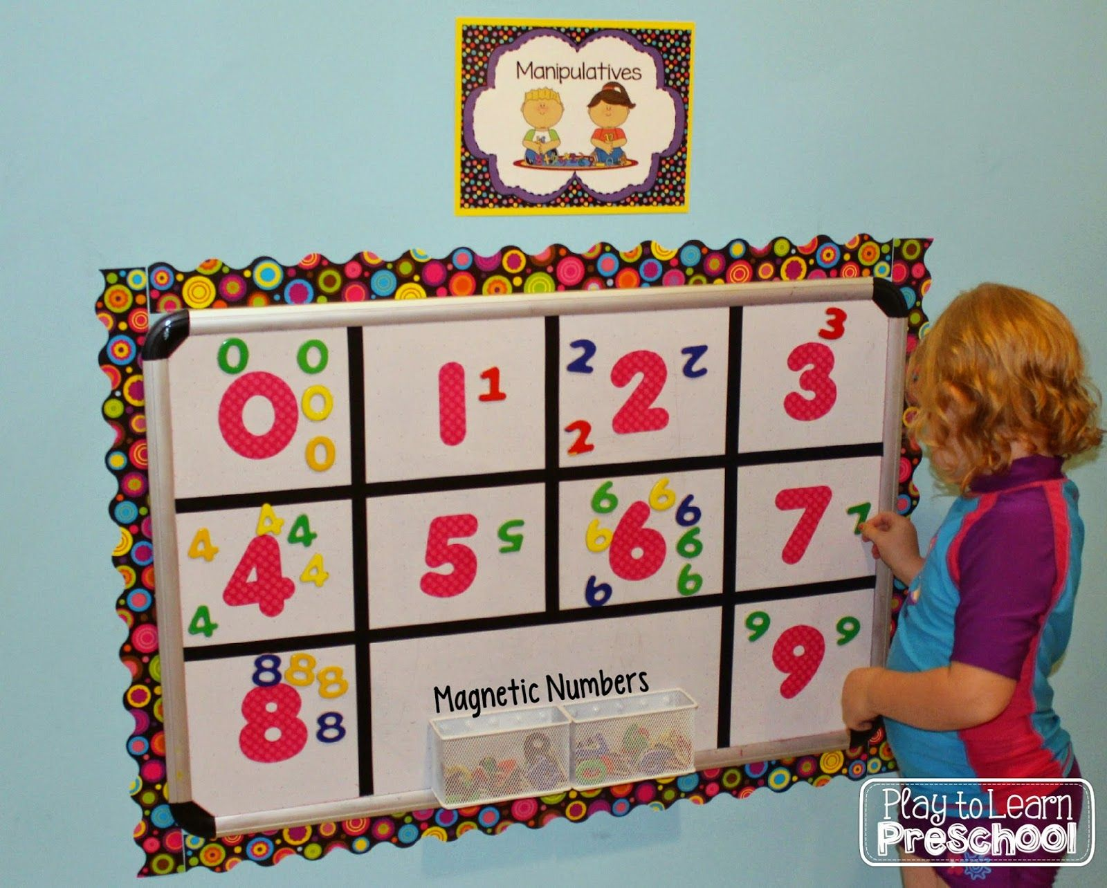 Magnetic Numbers Visual Discrimination