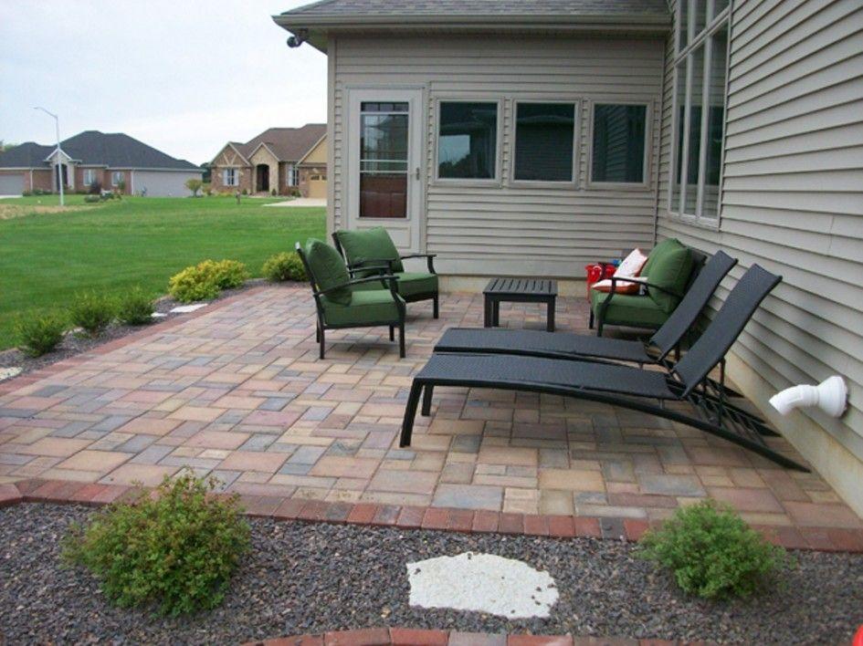 backyard patio ideas : patio paver good laying pavers on ... on Square Concrete Patio Ideas  id=59973