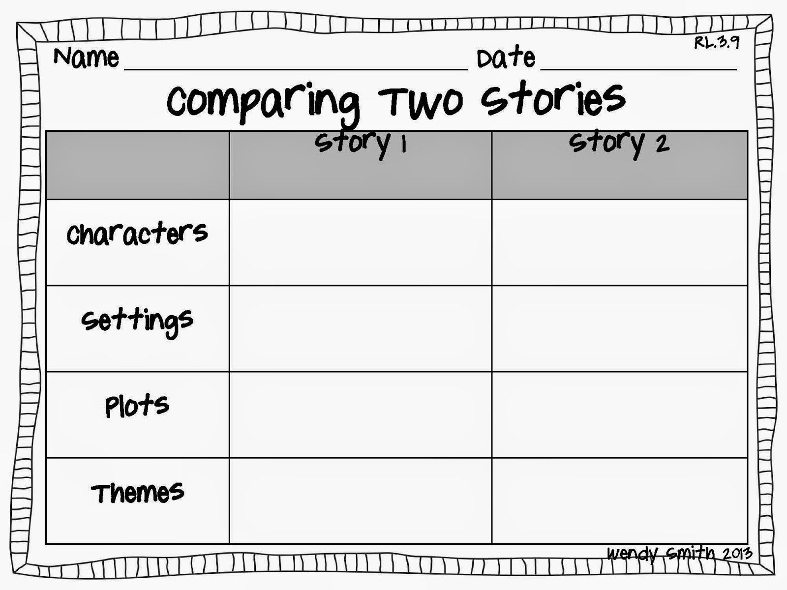 Compare And Contrast Essay On Two Books Examples