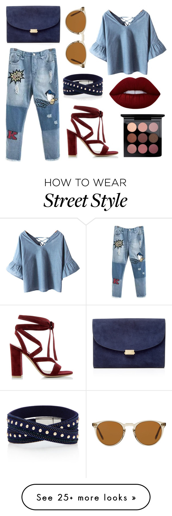"""""""Street Style"""" by ardhinach on Polyvore featuring Chicnova ..."""