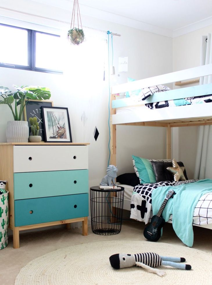 IKEA Mydal Bunk Bed Hack  Bunk bed Bedrooms and Kids rooms