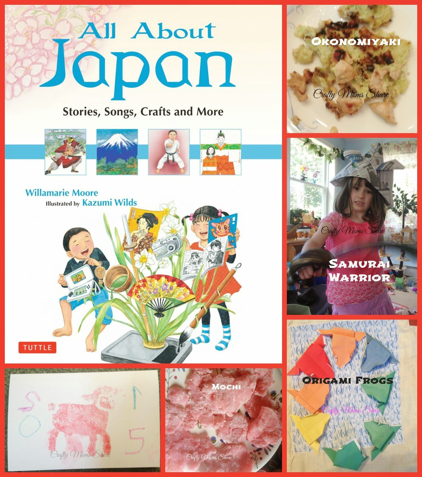 Crafty Moms Share All About Japan By Willamarie Moore Book Review