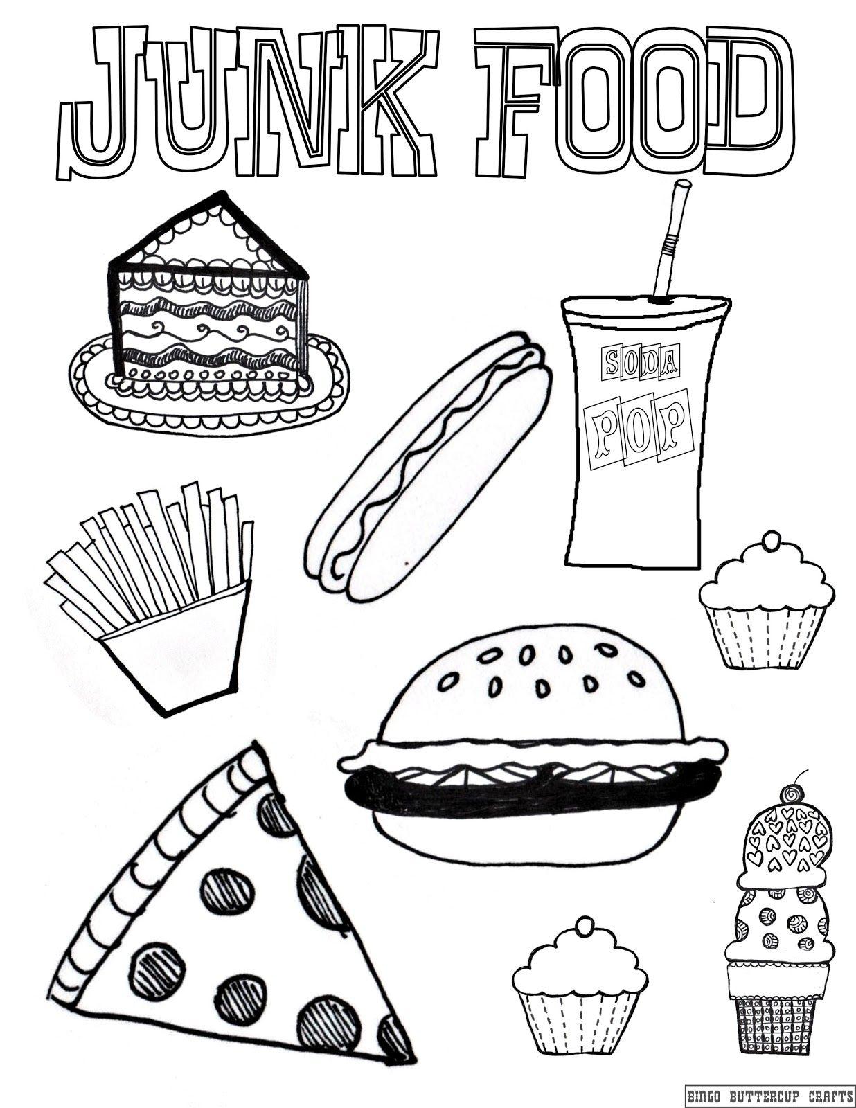 Healthy Vs Unhealthy Foods Preschool
