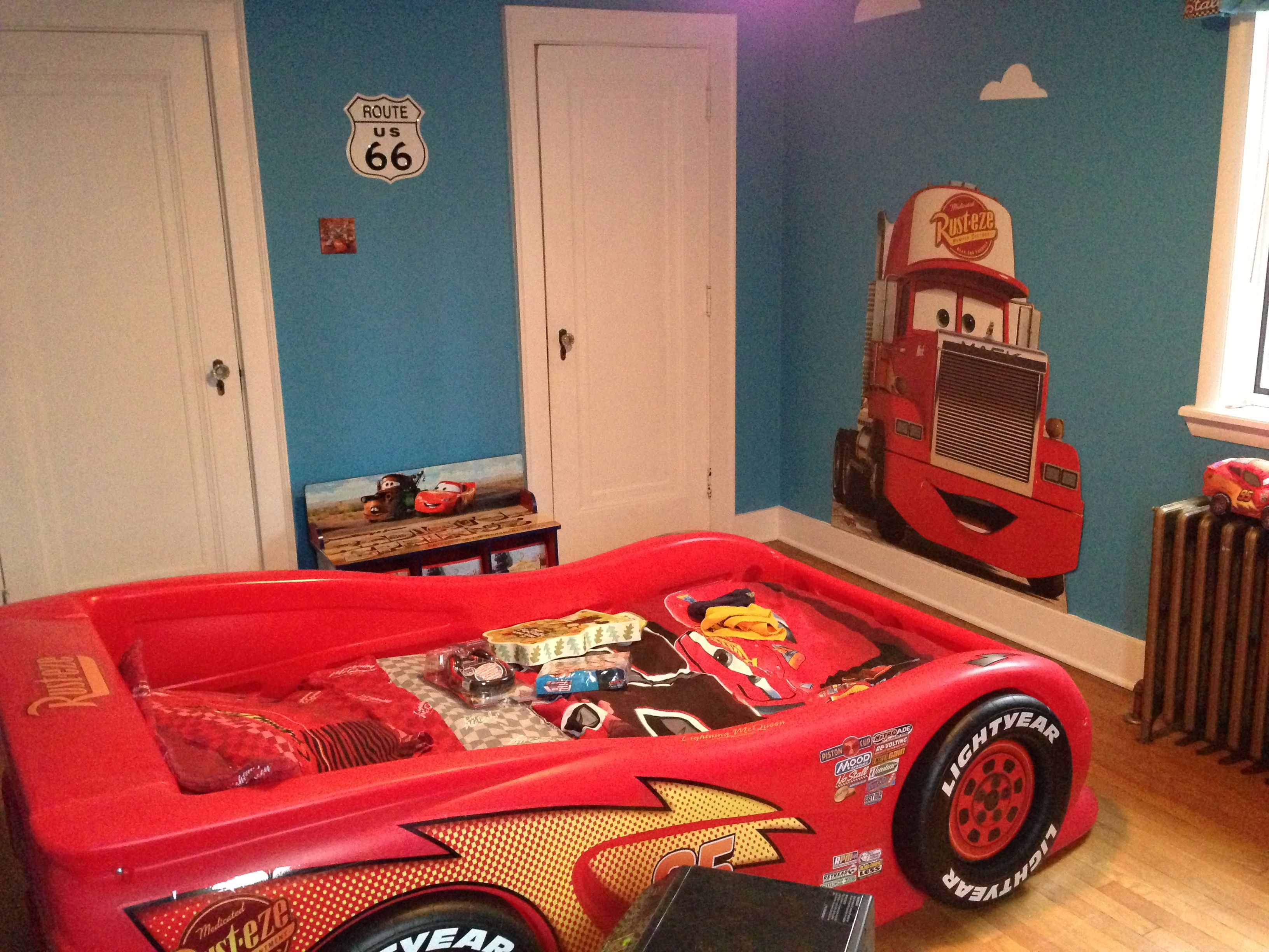 Disney Cars Bedroom