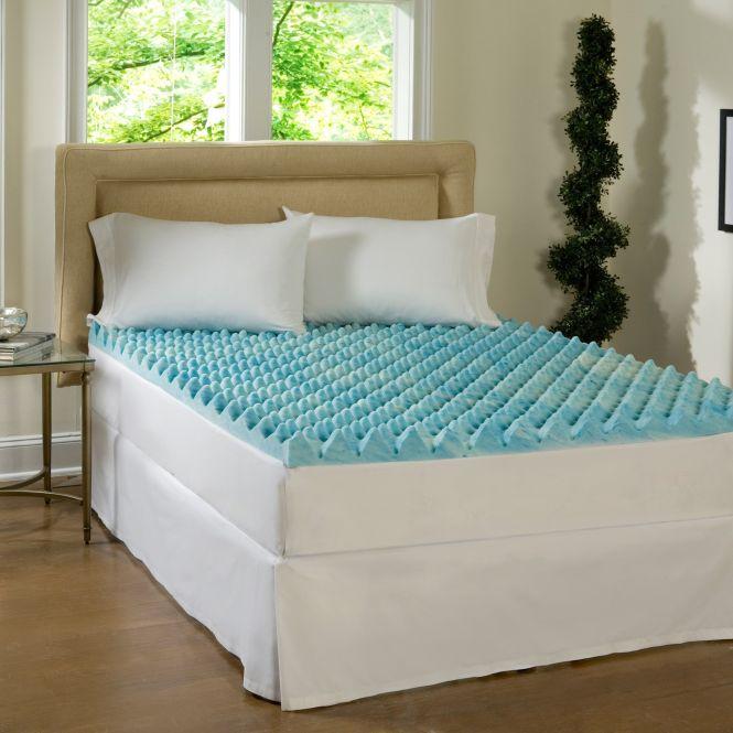 Comforpedic Loft From Beautyrest 3 Inch Gel Memory Foam Mattress Topper Full Size