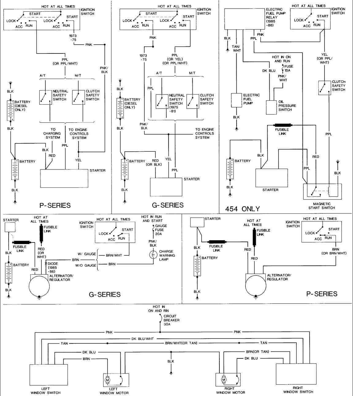 Chevy Truck Wire Diagram