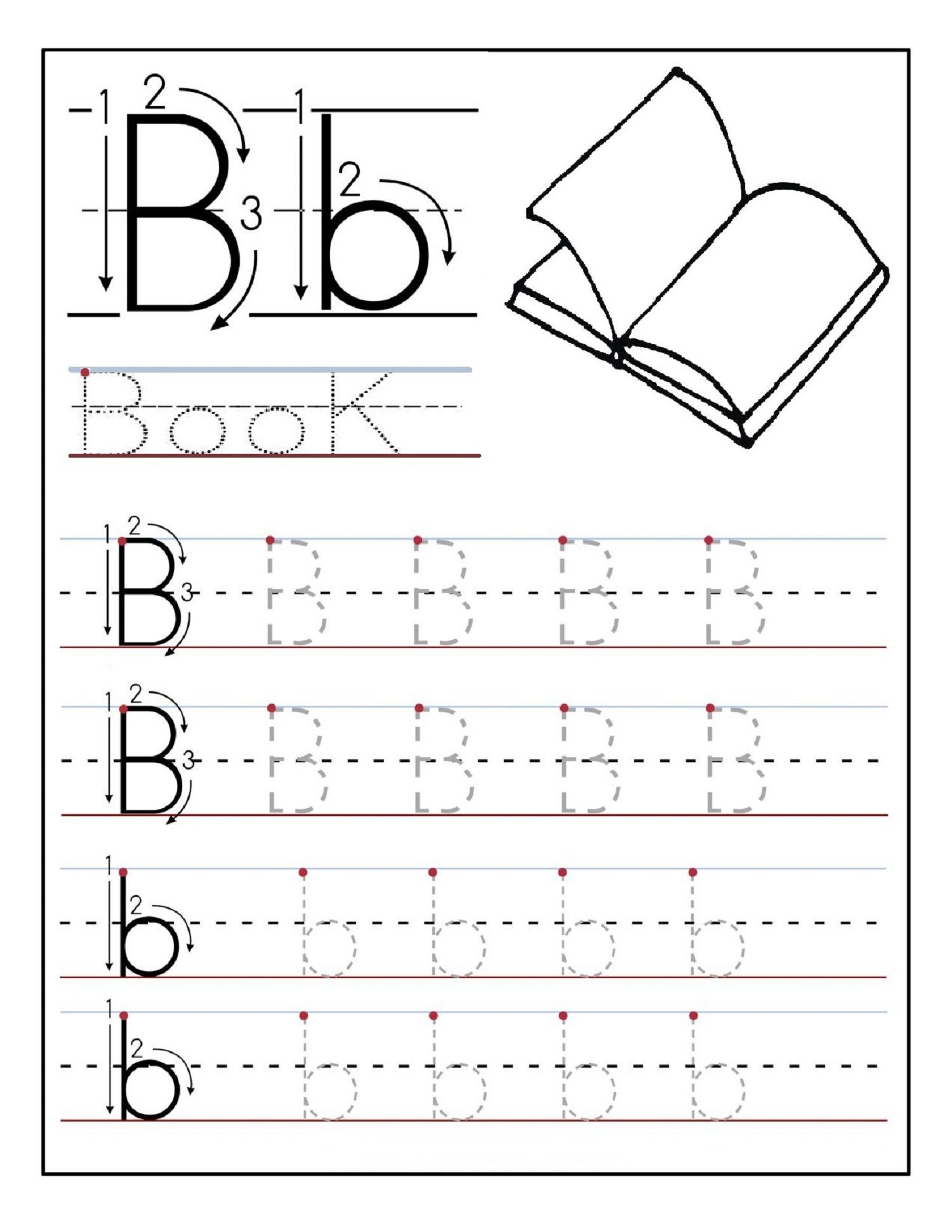 Alphabet Tracing Printables Best For Writing Introduction
