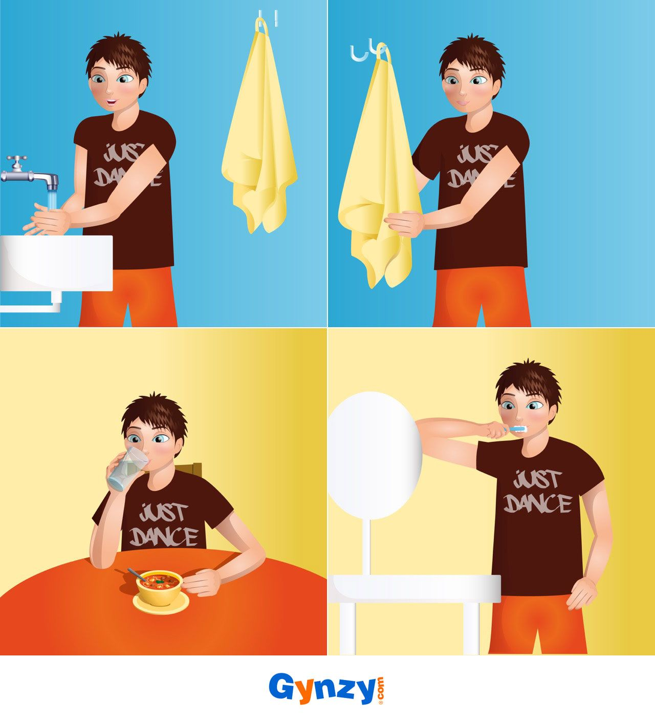 4 Step Sequence Story Pictures About Everyday Life Events