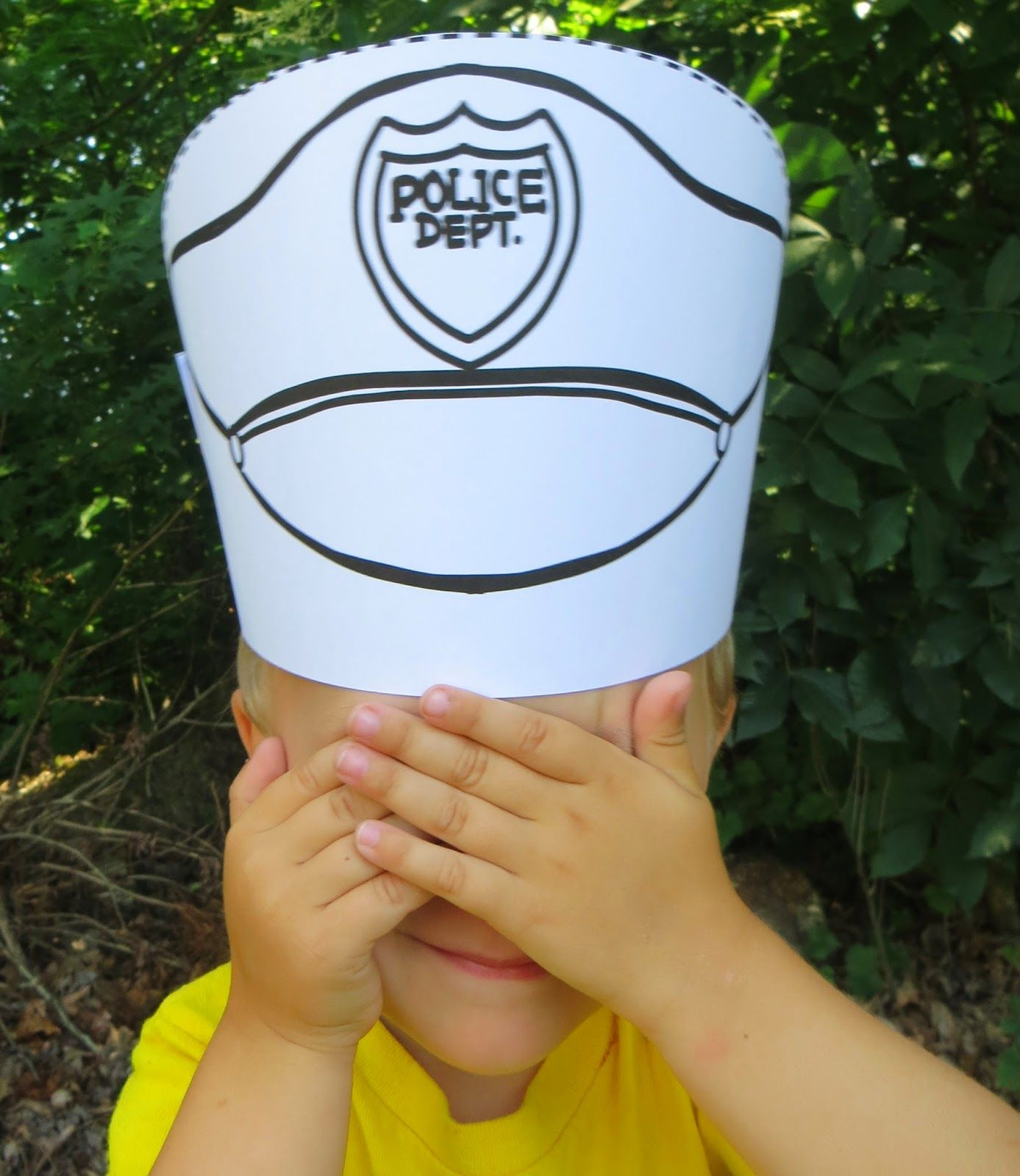 Color And Go Community Helpers Hats