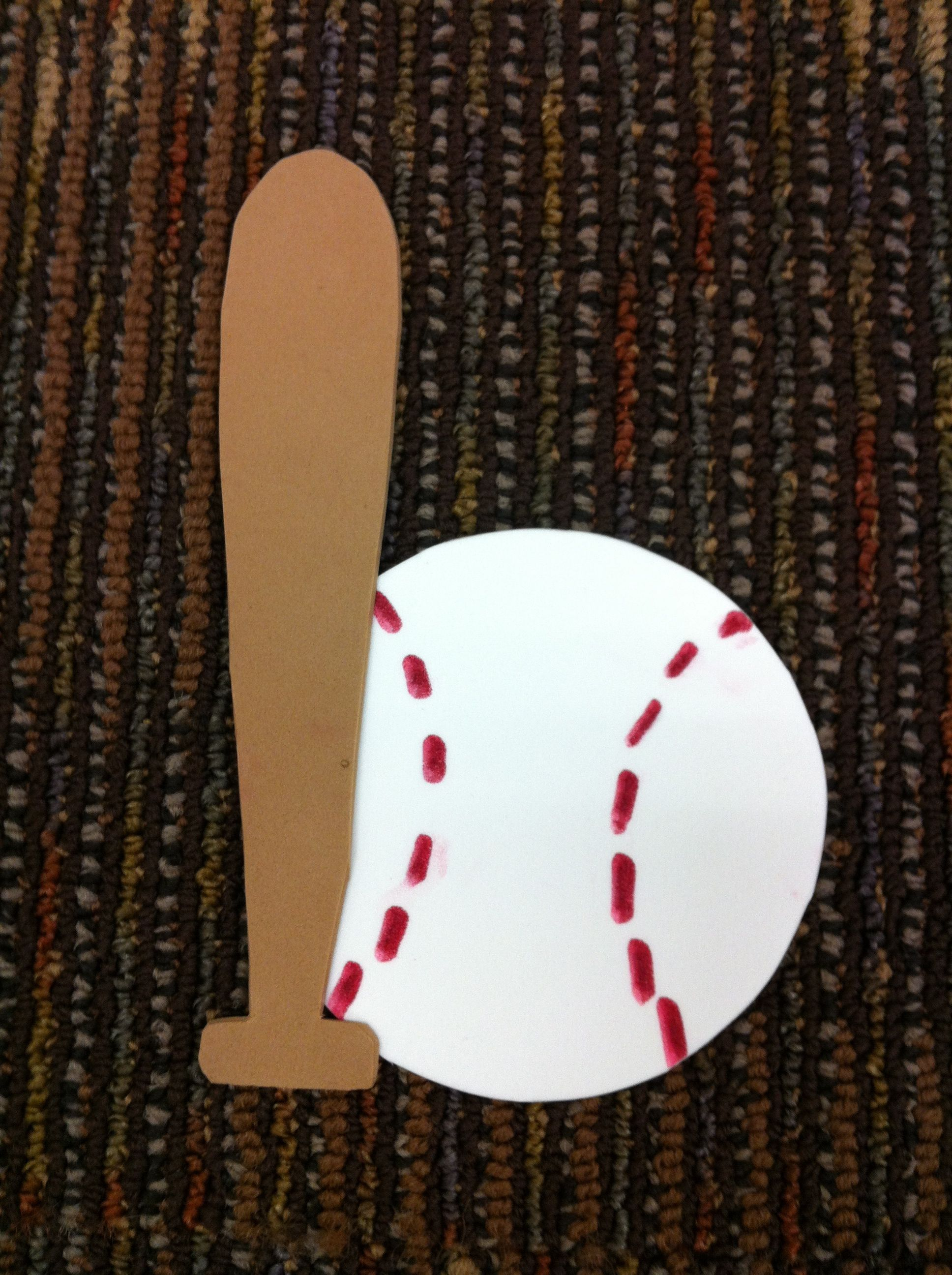 Bb Is For Baseball Amp Bat Craft Letsgetreadyforkindergarten