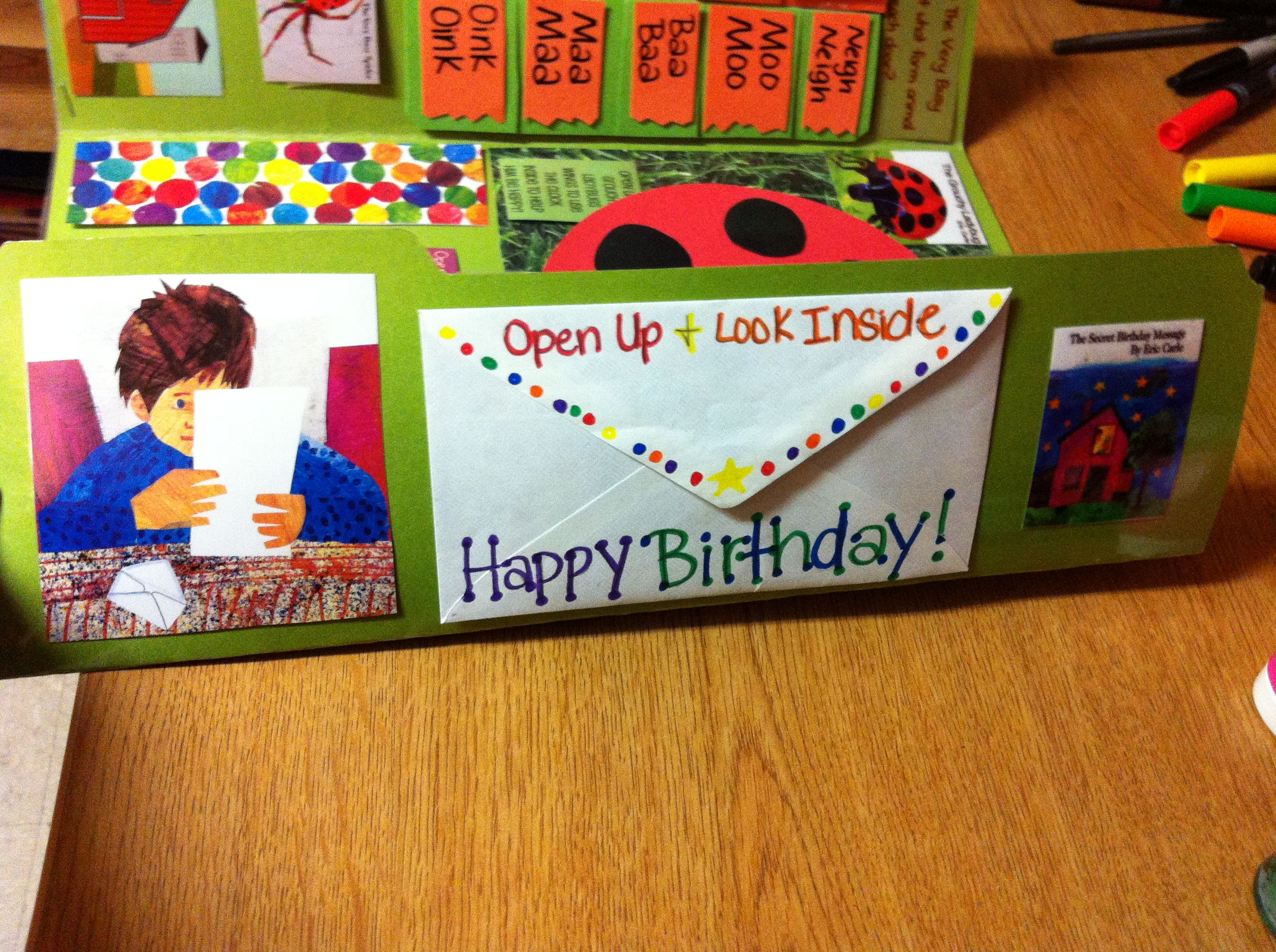 The Secret Birthday Message Flap