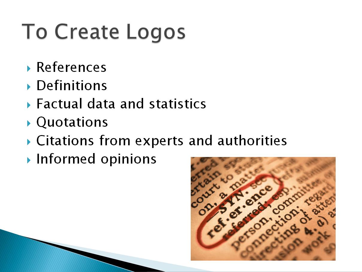 Ethos Pathos Logos Hand Out