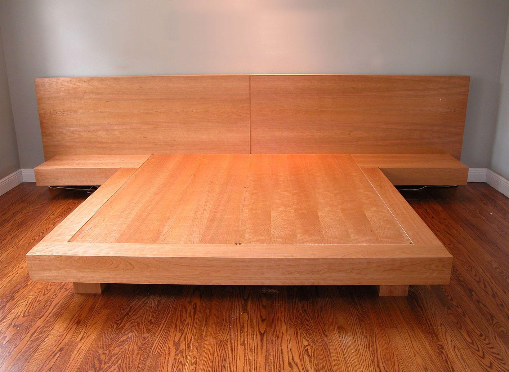 Platform King Size Bed