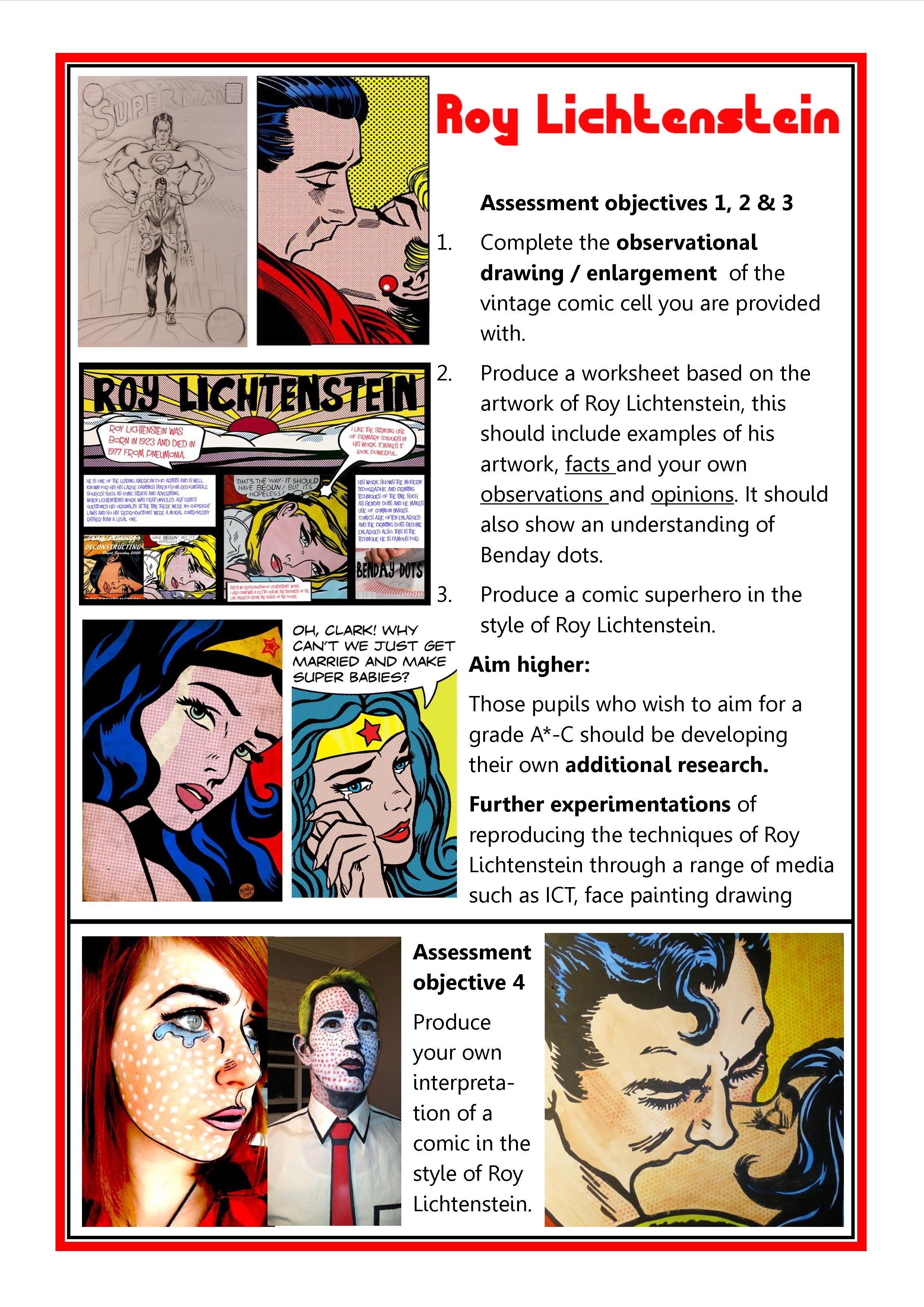 Op Art Worksheet For Students