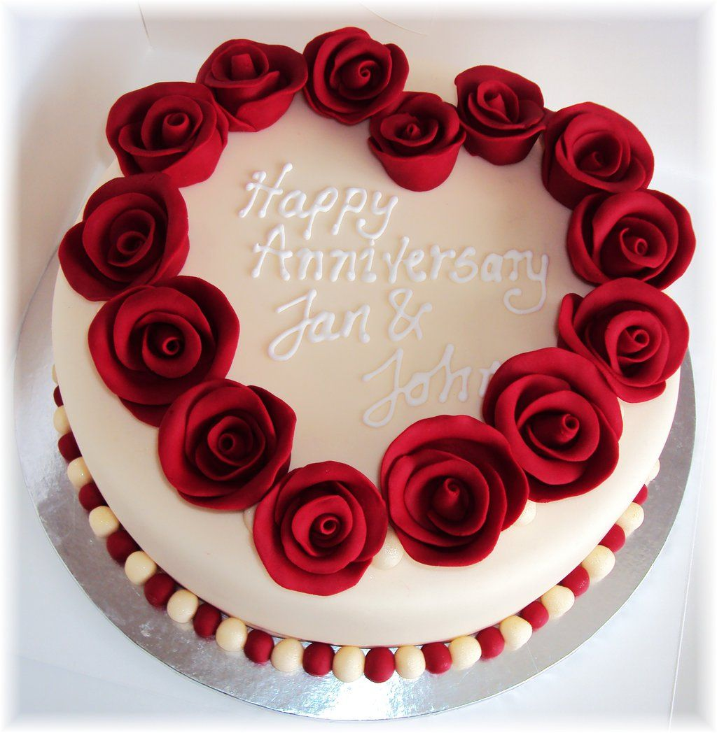 Ruby Anniversary Cakes