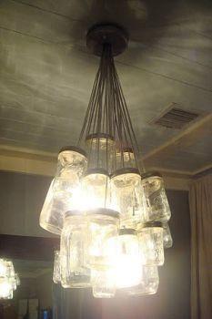 Great Idea Diy Mason Jar Chandelier Tutorial