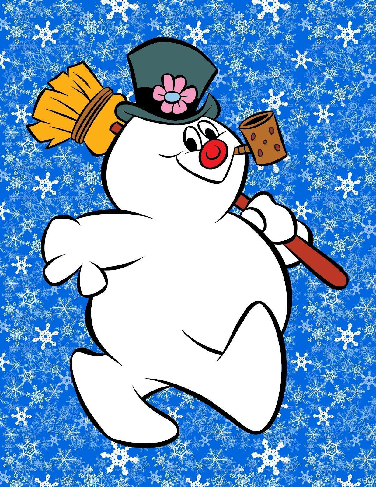 frosty the snowman new year screensavers