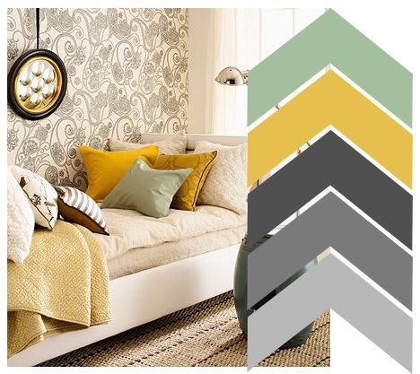 seafoam mustard shades of gray basement new on basement color palette ideas id=31975
