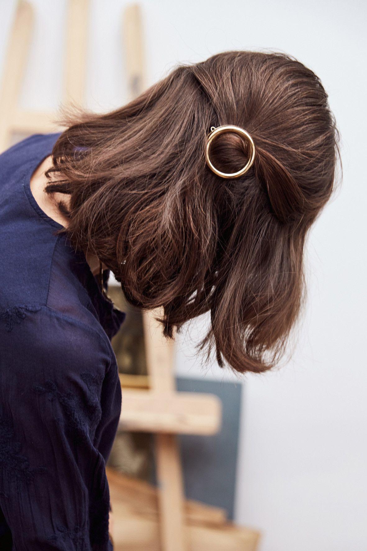 Barrette Justine Balzac Paris Hair styles Pinterest