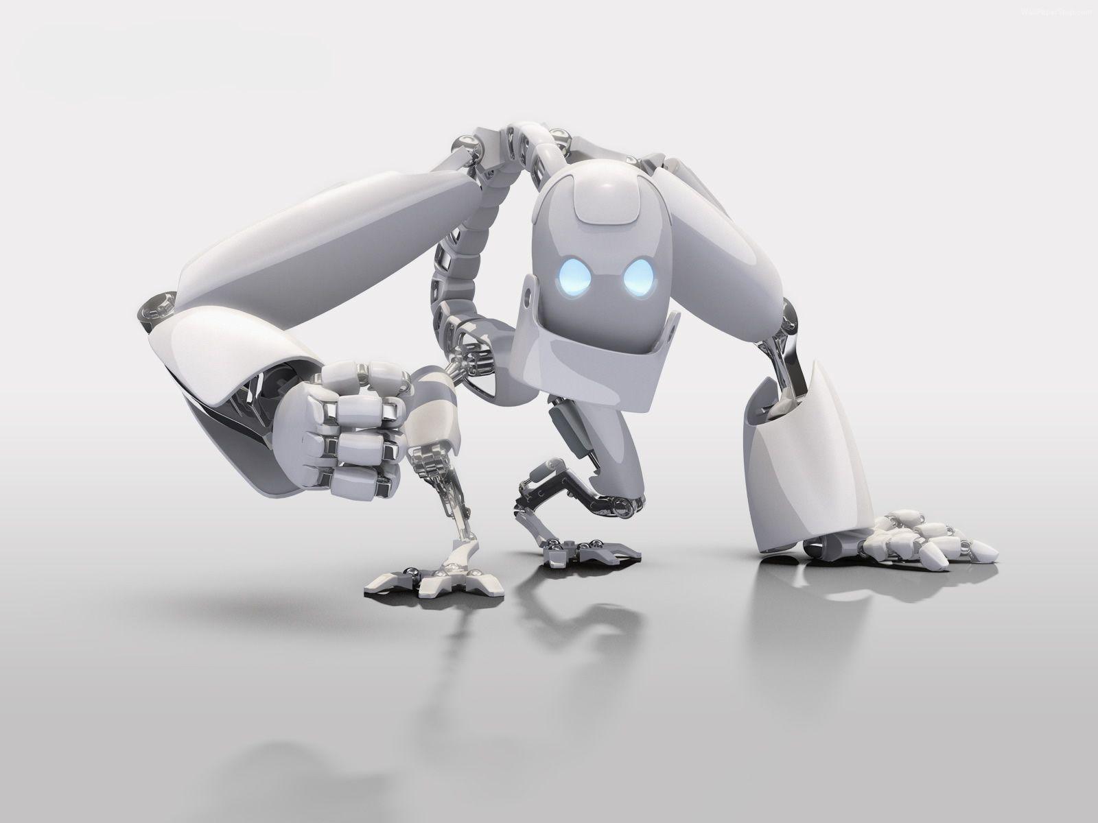 www 3d@ cg skupt robots pin it | 3d robot desktop background - hd