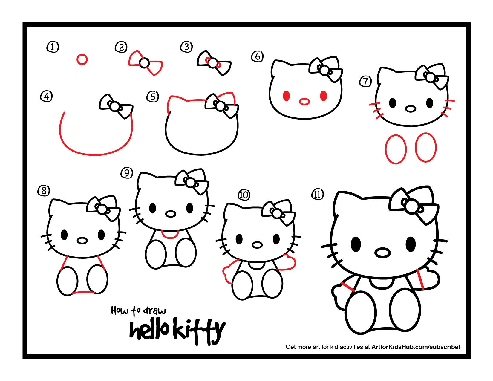 Download How To Draw Hello Kitty
