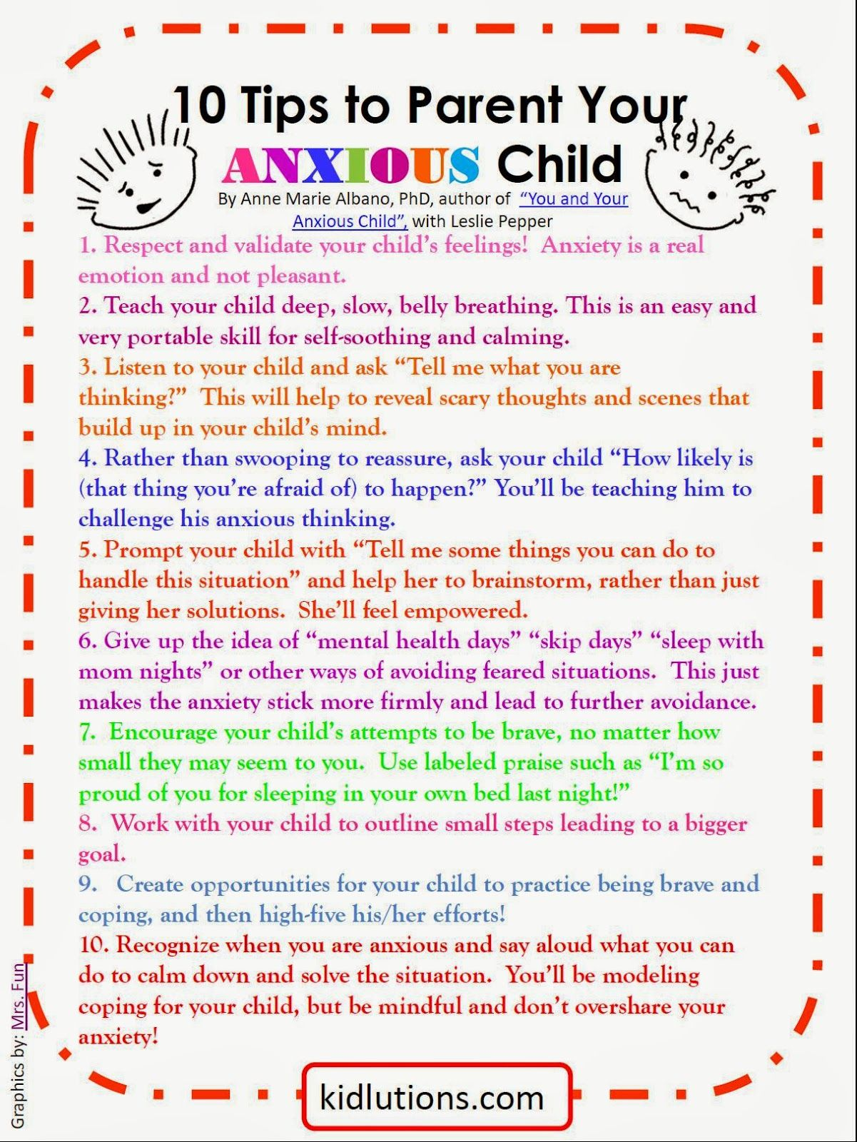 Spin Doctor Parenting 10 Tips To Parent Your Anxious