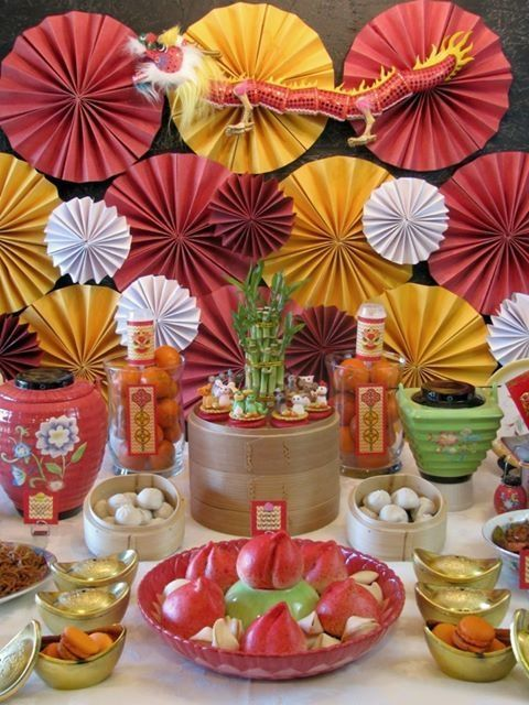 chinese new year theme party