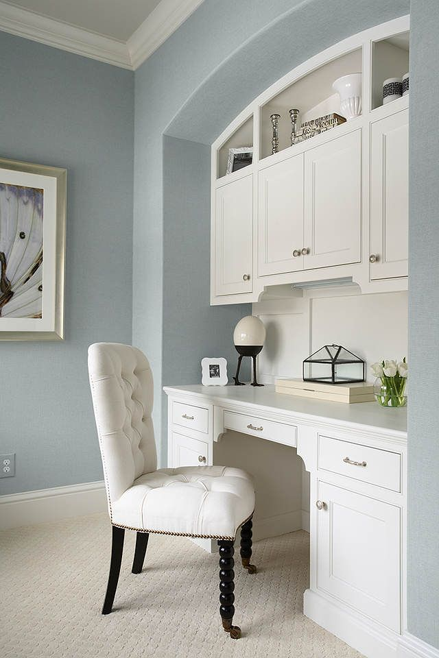 built in were painted with benjamin moore china white in a on benjamin moore office colors id=46841