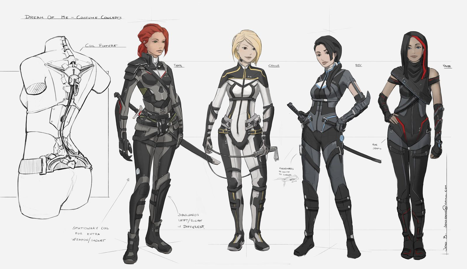 Dream Of Me Character Lineup By Rubiskoviantart On