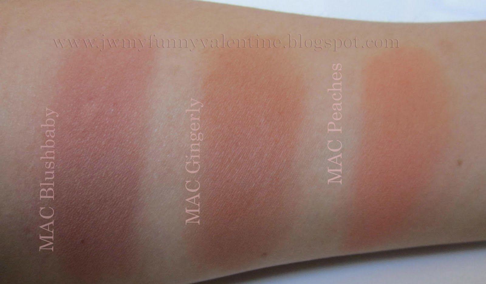 Get Mac Gingerly Blush First Makeup Pinterest Macs