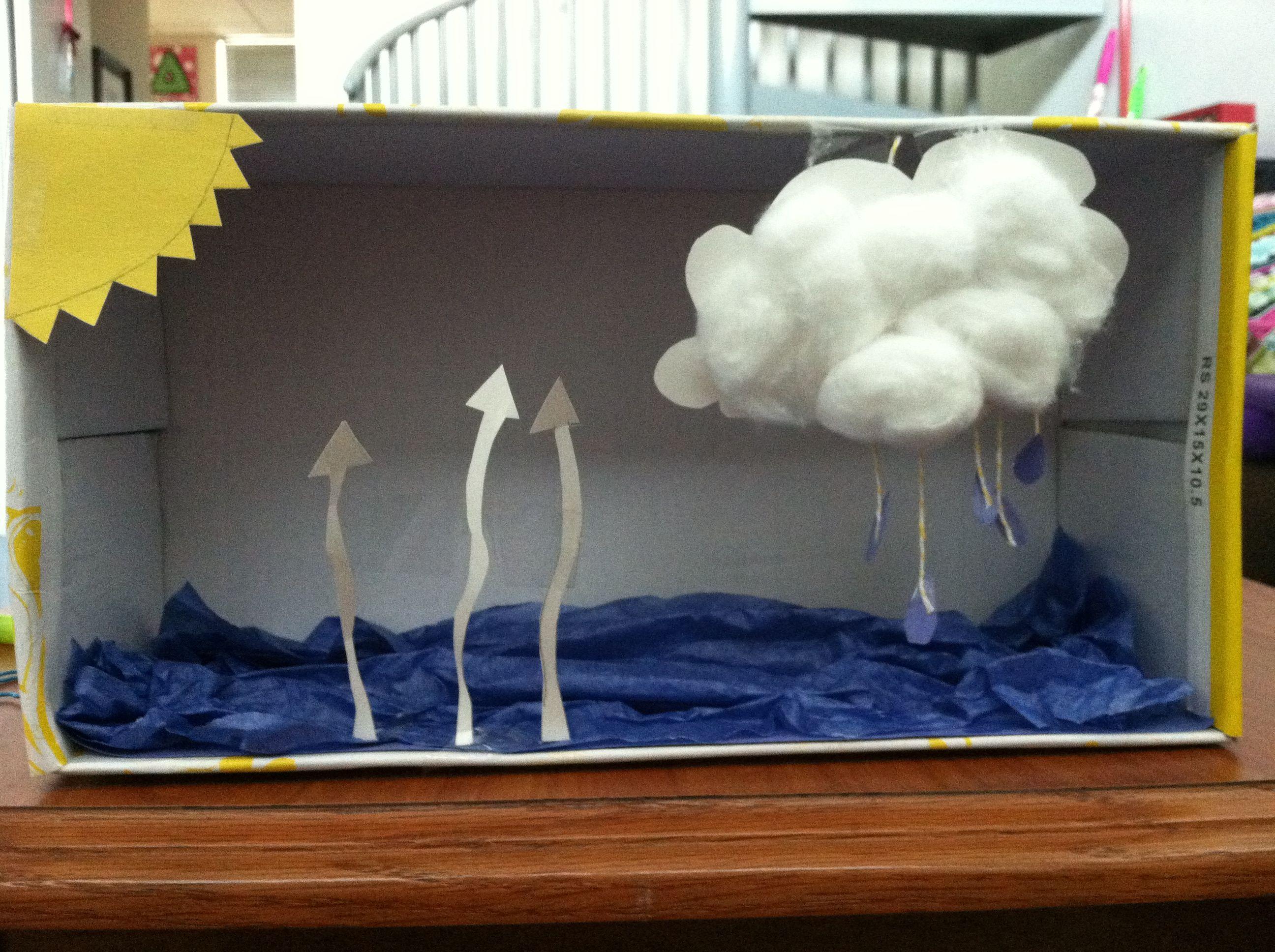Water Cycle Diorama