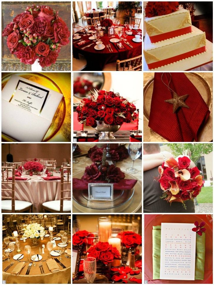 Red and Gold Wedding SUCH classy colors  Nigerian Engagement